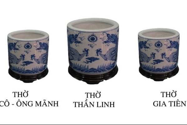 bàn thờ gia tiên có mấy bát hương và cách bài trí bát hương trên bàn thờ