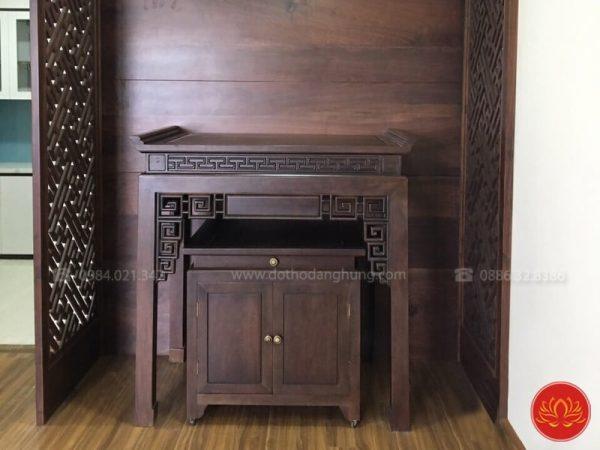 bàn thờ hiện đại