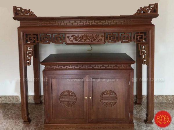 bàn thờ chung cư hiện đại