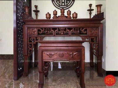 bàn thờ móc hiện đại