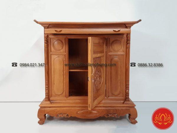 Mẫu tủ thờ gỗ gụ quá đẹp
