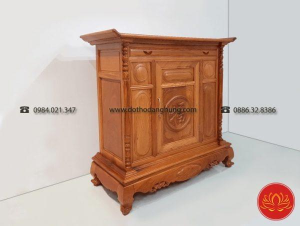 Phân biệt tủ thờ gỗ gụ thông qua mùi hương