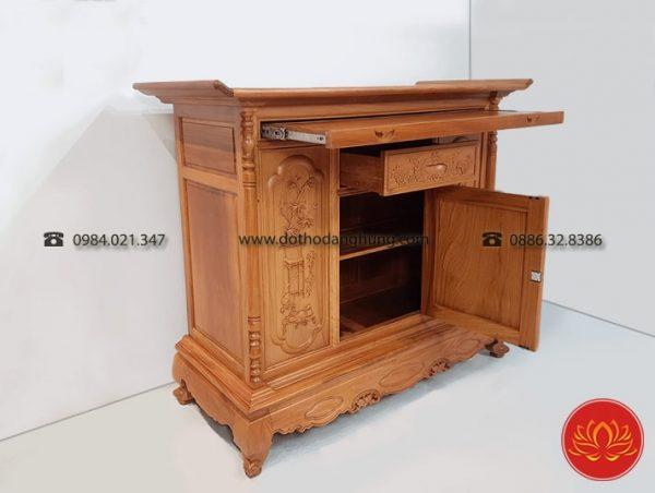 Mẫu tủ thờ gia tiên đẹp tại Đồ Thờ Đăng Hùng