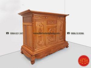 Tủ thờ gỗ gụ