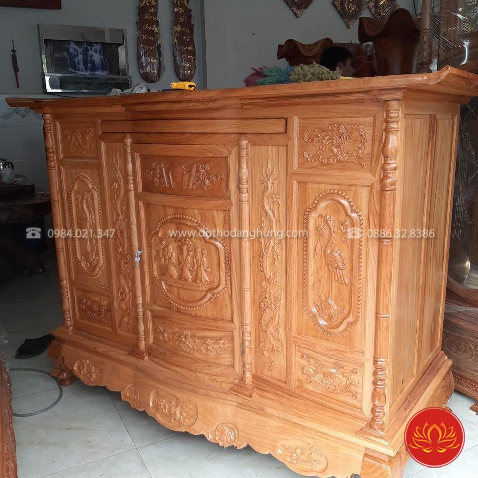Gỗ hương là loại gỗ cao cấp, có giá trị đắt đỏ, được nhiều người lựa chọn