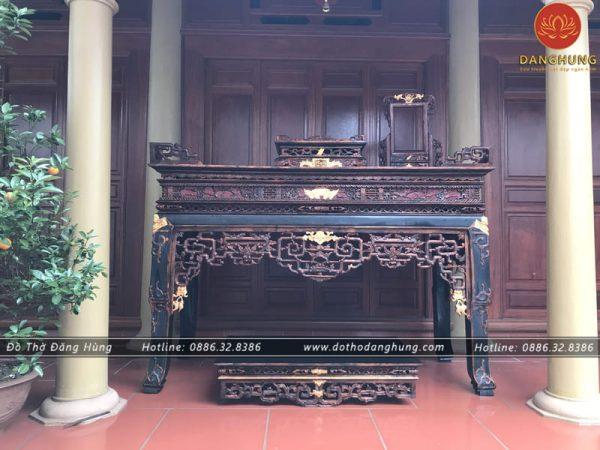 bàn thờ giả cổ | Đồ Thờ Đăng Hùng