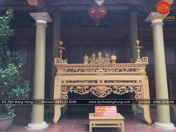 bàn thờ tứ linh | Đồ thờ Đăng Hùng